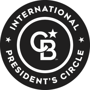 International President's Circle award given to Emily Cassolato in 2019.