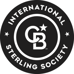 International Sterling Society award given to Emily Cassolato.
